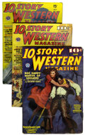 Pulps:Western, 10 Story Western Magazine File Copies Group (Popular Publications, 1936-54) Condition: Average FN.... (Total: 40 Items)
