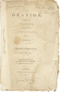 "Autographs:Military Figures, Benjamin Tallmadge Inscribed and Signed Pamphlet, ""B. Tallmadge"". The document is a 32 page pamphlet (including paper co..."