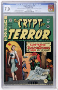 Golden Age (1938-1955):Horror, Crypt of Terror #17 (EC, 1950) CGC FN/VF 7.0 White pages....
