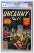 Golden Age (1938-1955):Horror, Uncanny Tales #1 (Atlas, 1952) CGC FN+ 6.5 Cream to off-whitepages....