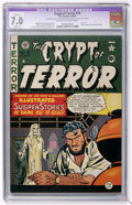 Golden Age (1938-1955):Horror, Crypt of Terror #19 (EC, 1950) CGC Apparent FN/VF 7.0 Slight (P)off-white to white pages....