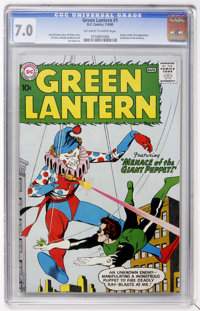 Green Lantern #1 (DC, 1960) CGC FN/VF 7.0 Off-white to white pages