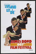 "Movie Posters:James Bond, James Bond Film Festival (United Artists, 1976). One Sheet (27"" X41"") Style A. James Bond. Starring Roger Moore, Jane Seymo..."