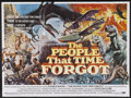 "Movie Posters:Adventure, The People That Time Forgot (American International, 1977). BritishQuad (30"" X 40""). Adventure. Starring Patrick Wayne, Dou..."