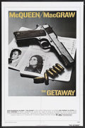 """Movie Posters:Action, The Getaway (Warner Brothers, 1972). One Sheet (27"""" X 41""""). Action.Starring Steve McQueen, Ali MacGraw, Ben Johnson, Sally ..."""