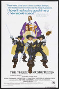 "Movie Posters:Adventure, The Three Musketeers (20th Century Fox, 1974). One Sheet (27"" X41""). Adventure. Starring Oliver Reed, Raquel Welch, Richard..."