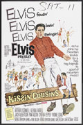 "Movie Posters:Elvis Presley, Kissin' Cousins (MGM, 1964). One Sheet (27"" X 41""). Elvis Presley. Starring Elvis Presley, Arthur O'Connell, Glenda Farrell,..."
