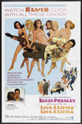 """Movie Posters:Elvis Presley, Live a Little, Love a Little (MGM, 1968). One Sheet (27"""" X 41"""").Elvis Presley. Starring Elvis Presley, Michele Carey, Don ..."""