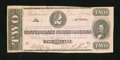 Confederate Notes:1862 Issues, T54 $2 1862.. ...