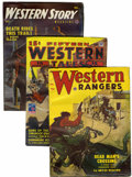 Pulps:Western, Miscellaneous Western Pulps File Copies Group (Various Publishers, 1937-54) Condition: Average FN.... (Total: 31 Items)