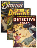 Pulps:Detective, Miscellaneous Detective Pulps File Copies Group (Various Publishers, 1944-53) Condition: Average FN.... (Total: 36 Items)