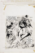 Original Comic Art:Covers, Batman Portuguese Cover Original Art (1968)....
