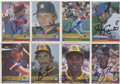 Autographs:Sports Cards, 1984 Donruss Baseball Signed Cards Collection (731). ...