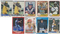 Autographs:Sports Cards, 1981-1988 Fleer/Score Baseball Signed Cards Collection (535). ...