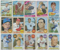 Autographs:Sports Cards, 1965-1969 Topps Baseball Signed Cards Collection (381). ...
