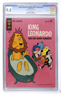 Silver Age (1956-1969):Cartoon Character, King Leonardo and His Short Subjects #3 File Copy (Gold Key, 1963) CGC VF/NM 9.0 Off-white to white pages....