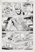 Original Comic Art:Panel Pages, Curt Swan and Al Vey Aquaman #1, page 8 Original Art (DC,1989)....