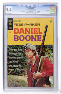 Daniel Boone #15 File Copy (Gold Key, 1969) CGC NM 9.4 Off-white to white pages