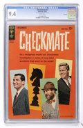 Silver Age (1956-1969):Mystery, Checkmate #2 File Copy (Gold Key, 1962) CGC NM 9.4 White pages....