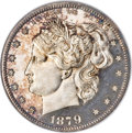 Patterns, 1879 50C Washlady Half Dollar, Judd-1597, Pollock-1791, High R.6,PR66 Cameo NGC....