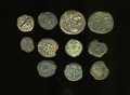 Ancients:Ancient Lots  , Ancients: Lot of eleven Jewish and biblically related coins....(Total: 11 coins)