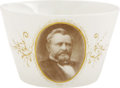 Political:3D & Other Display (pre-1896), Ulysses S. Grant: China Portrait Cup....