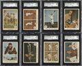 Baseball Cards:Sets, 1959 Fleer Ted Williams Near Set (79/80). ...