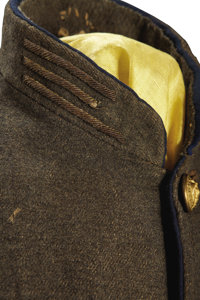 The Confederate Officer's Shell Jacket of Captain John A  West