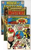 Silver Age (1956-1969):Horror, House of Mystery Group (DC, 1964-73) Condition: Average FN....(Total: 17 Comic Books)
