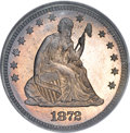 Proof Seated Quarters, 1872 25C PR66 PCGS....