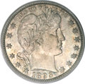 Barber Quarters, 1893-S 25C MS65 PCGS....