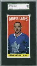 Hockey Cards:Singles (1960-1969), 1964-65 Topps Red Kelly #44 SGC 86 NM+ 7.5....