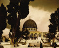 Photography :20th Century , THE AMERICAN COLONY PHOTO DEPARTMENT. The Dome of the Rock, circa 1912. Hand-tinted silver gelatin, circa 1912. 9 x 11 i...