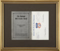 Autographs:U.S. Presidents, Harry S Truman: Typed Letter Signed and a Copy of The National Old Trails Road: The Great Historic Highway of America...
