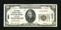 National Bank Notes:Maryland, Westernport, MD - $20 1929 Ty. 1 The Citizens NB Ch. # 5831. ...
