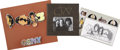 Music Memorabilia:Autographs and Signed Items, Crosby, Stills, and Nash Signed Tour Book with Artwork.... (Total:4 Items)