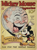 Platinum Age (1897-1937):Miscellaneous, Mickey Mouse Magazine V2#1 (K. K. Publications, Inc., 1936)Condition: FN....