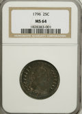 Early Quarters, 1796 25C MS64 NGC....