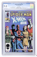 Modern Age (1980-Present):Superhero, Marvel Team-Up #150 Spider-Man and X-Men (Marvel, 1985) CGC NM/MT9.8 White pages....