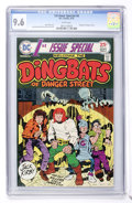 Bronze Age (1970-1979):Superhero, 1st Issue Special #6 Dingbats of Danger Street (DC, 1975) CGC NM+ 9.6 White pages....