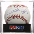 Autographs:Baseballs, Pete Rose Single Signed Baseball, PSA Mint 9....