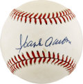 Autographs:Baseballs, Hank Aaron Single Signed Baseball. ...
