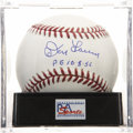 "Autographs:Baseballs, Don Larsen ""PG 10-8-56"" Single Signed Baseball, PSA Mint+ 9.5. ..."