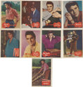 "Non-Sport Cards:General, 1956 Topps ""Elvis Presley"" Complete Set (66). ..."