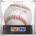 Autographs:Baseballs, Joe Morgan Single Signed Baseball, PSA Mint+ 9.5....