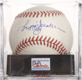 Autographs:Baseballs, Reggie Jackson Single Signed Baseball, PSA NM-MT+ 8.5....
