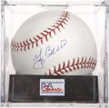 Autographs:Baseballs, Yogi Berra Single Signed Baseball, PSA Mint+ 9.5....