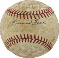 Autographs:Baseballs, 1930s Stars Multi-Signed Baseball with Gehrig and Foxx....