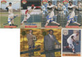 Autographs:Sports Cards, Baseball Hall of Famers Signed Trading Cards Group Lot of 7....
