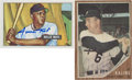 Autographs:Sports Cards, Al Kaline and Willie Mays Signed Trading Cards Group Lot of 2....